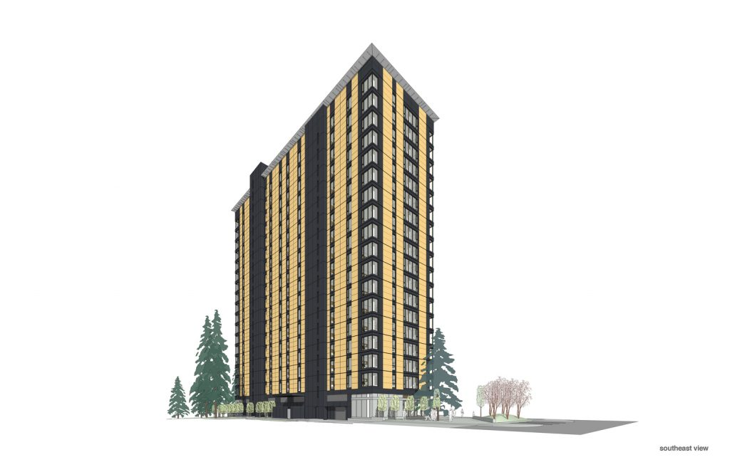 Tower in wood, Vancouver